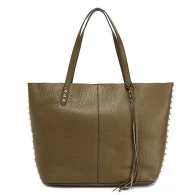 47026c6b9 REBECCA MINKOFF Medium Olive Tote - Penny Store Limited