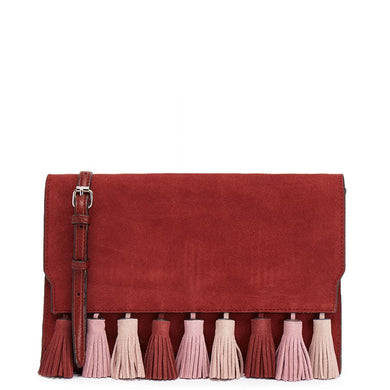 8ddfacd25 REBECCA MINKOFF Sofia Port Tassel Clutch Bag - Penny Store Limited