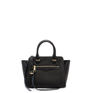 ccf7dce53 REBECCA MINKOFF Mini Avery Black Saffiano Leather Tote - Penny Store Limited