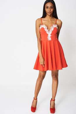 PRETTY DRESS WITH LACE EX-BRANDED - Penny Store Limited