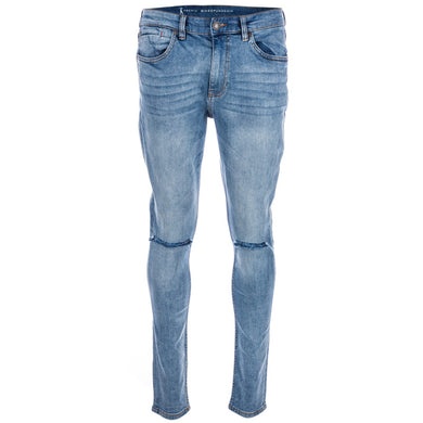 259c1dbf76e Ringspun Mens Apollo Skinny Fit Ripped Jeans - Penny Store Limited