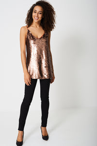 EMBELLISHED DISCO BALL TOP EX-BRANDED - Penny Store Limited