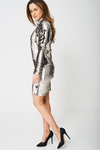 EMBELLISHED DISCO BALL DRESS EX-BRANDED - Penny Store Limited