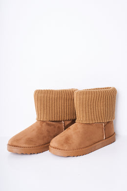 CLASSIC MINI SOCK DETAIL BOOTS - Penny Store Limited