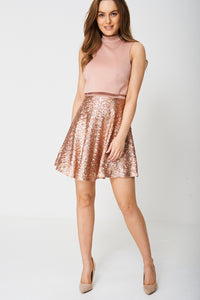 EXCLUSIVE COLLECTION SEQUIN DRESS EX-BRANDED - Penny Store Limited