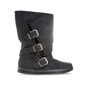 Blowfish Womens Flyn Triple Buckle Boots - Penny Store Limited