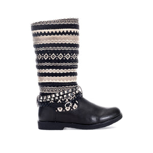 Joe Browns Womens Funky Aztec Biker Boots - Penny Store Limited