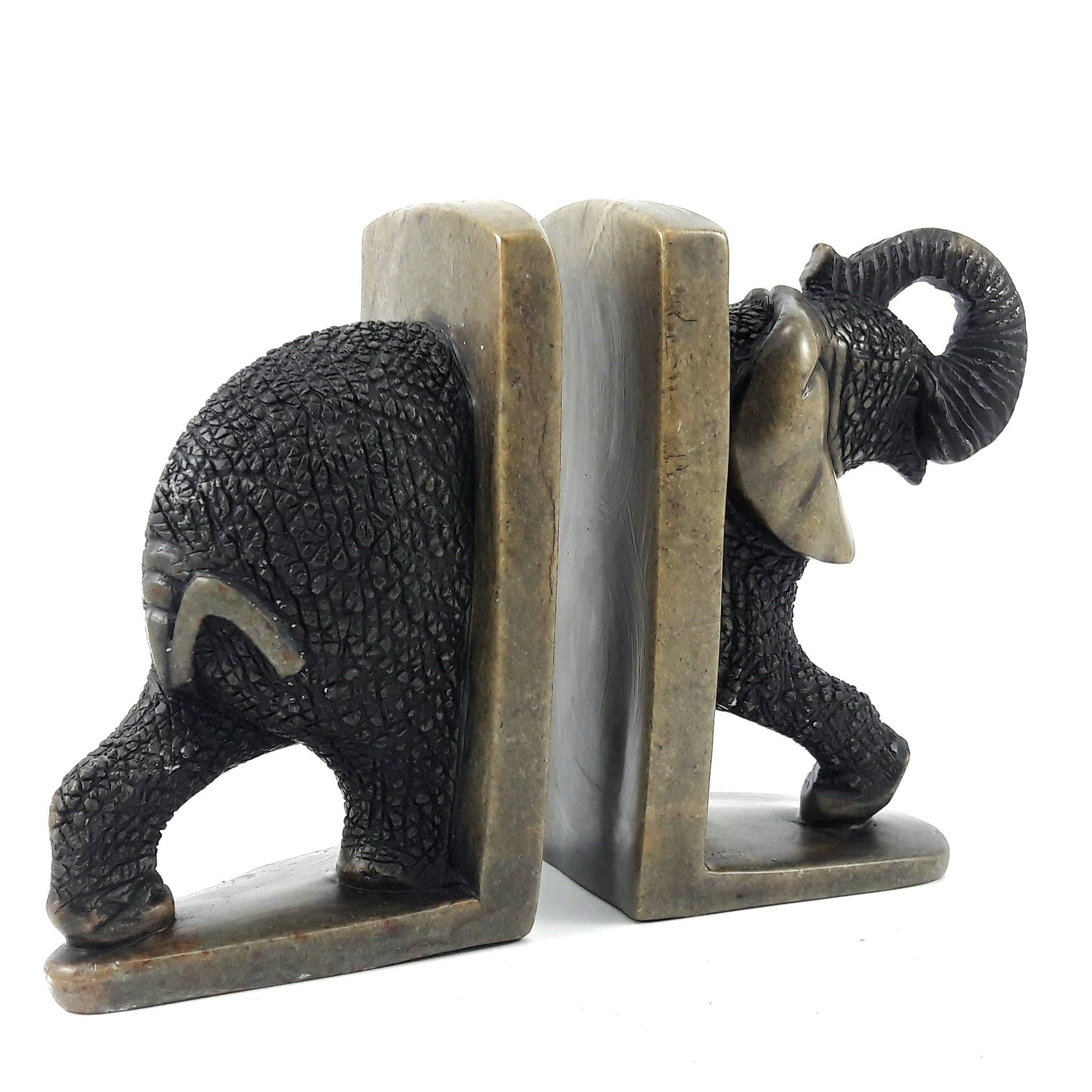 Elephant Bookends