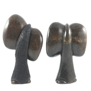 Pair of Abstract Elephants