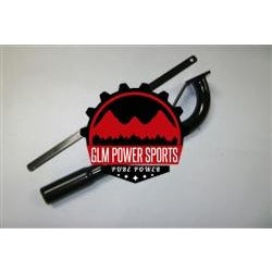 Header, Tractor Pipe - GX270, GX390, & 420cc Predator - GLM POWER SPORTS