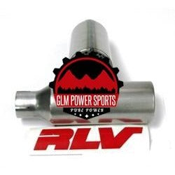 "Muffler, RLV, 1"" - GLM POWER SPORTS"