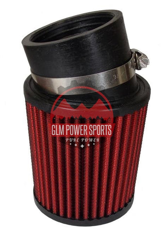 6899 Angled Air Filter - GLM POWER SPORTS