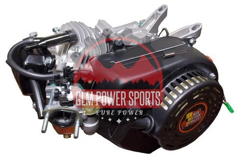Engine, BSP 6.5 196cc (Chinese OHV), Black (BSP Cam Included) - GLM POWER SPORTS