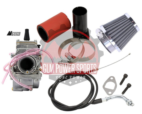 24mm Flatside Mikuni Kit - GLM POWER SPORTS
