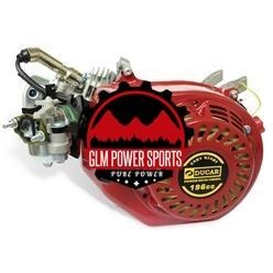 Engine, Ducar 6.5 196cc (Chinese OHV) - GLM POWER SPORTS