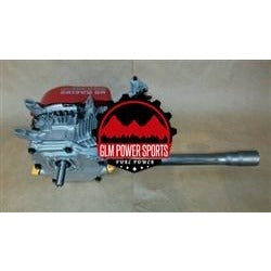 "Header, Mini Bike, Single, Side Outlet, GX200, 6.5 OHV, & 212 Predator, Flared End *(1 5/16"") - GLM POWER SPORTS"