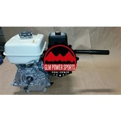 Header, Mini Bike, Single, Center Outlet, GX390 - GLM POWER SPORTS