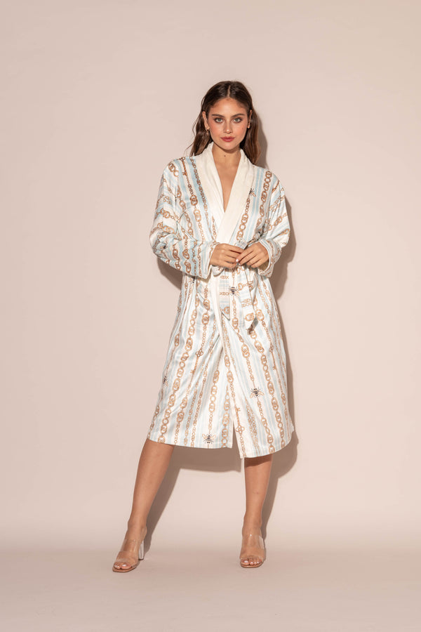 Bijoux Blue Long Robe