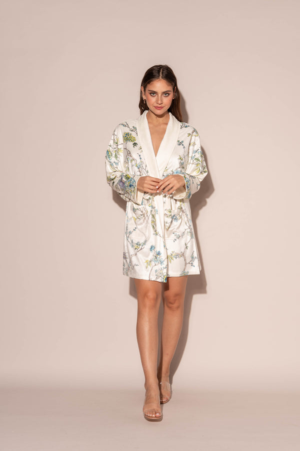 Blue By You Short Robe