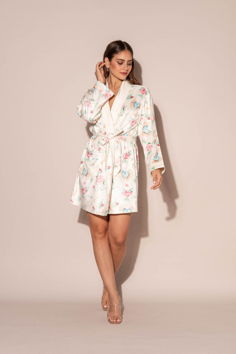 L'amour Short Robe