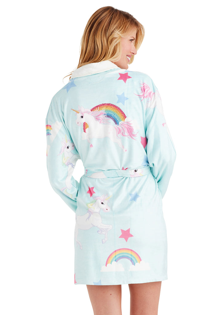 Unicorn Short Robe