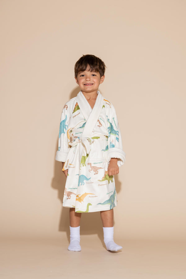 Dinosaur Kids Robe