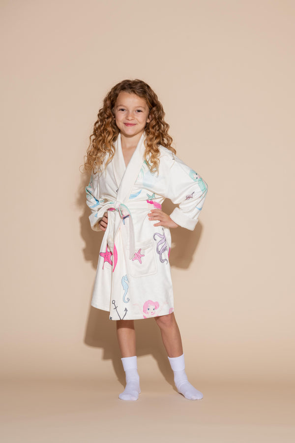 Mermaid Kids Robe