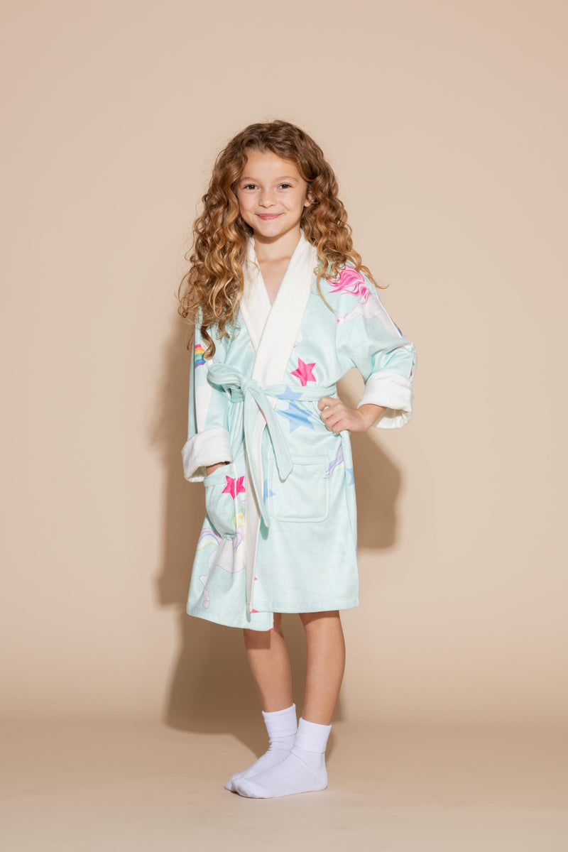 Unicorn Kids Robe