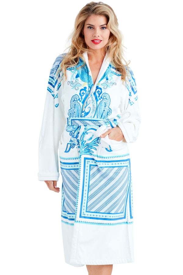 Coachchella Blue Long Robe