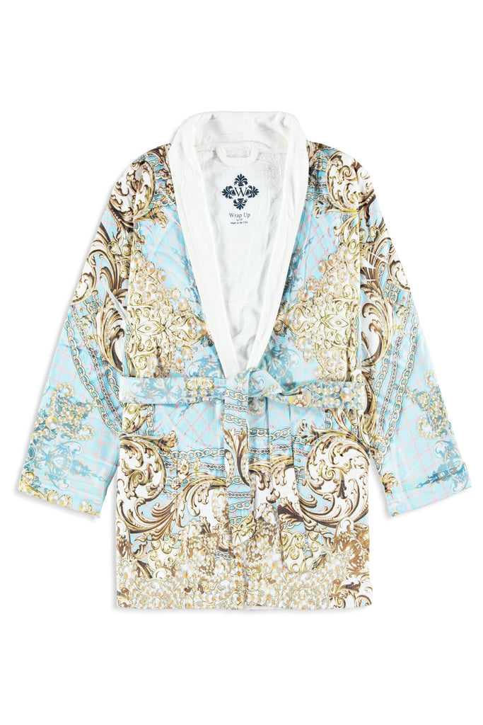Pearl Max Blue Kids Robe