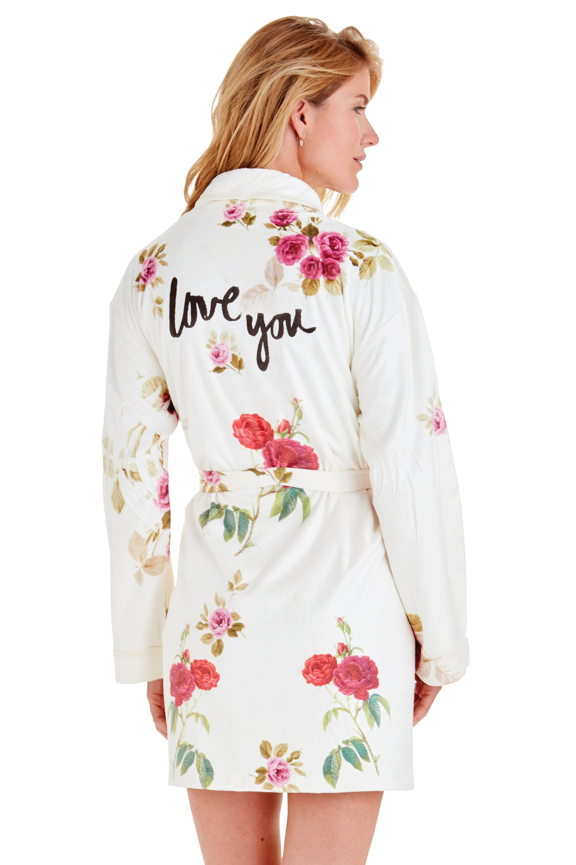 Floral Love You Short Robe