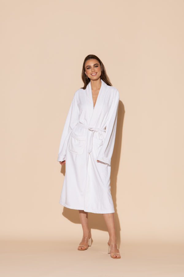 White Long Robe
