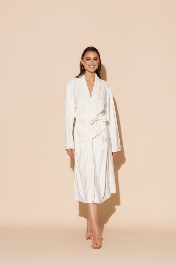 Cream Long Robe