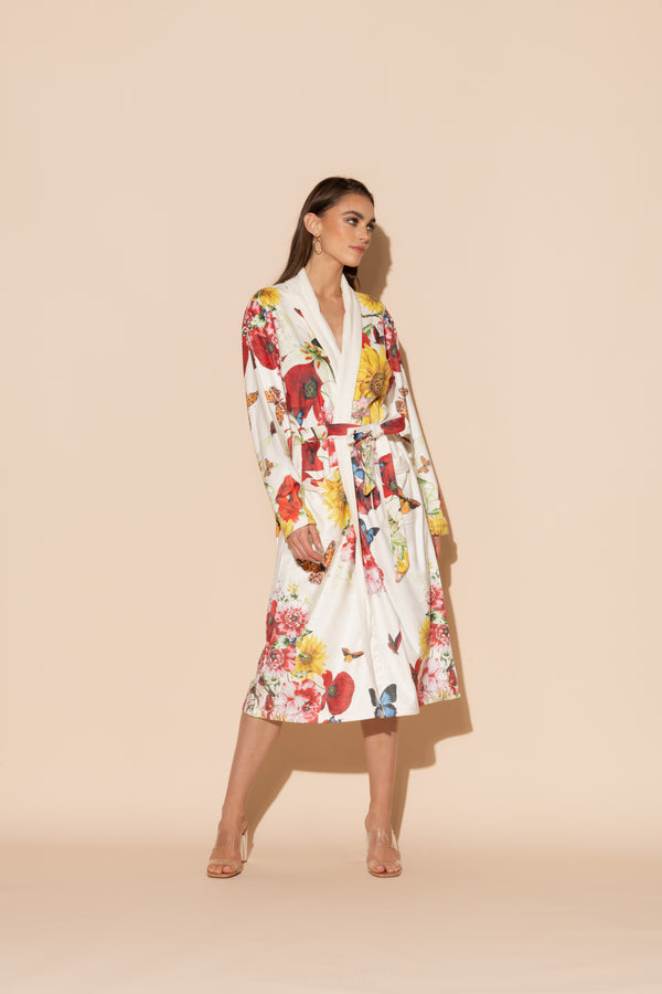 Bouquet Long Robe