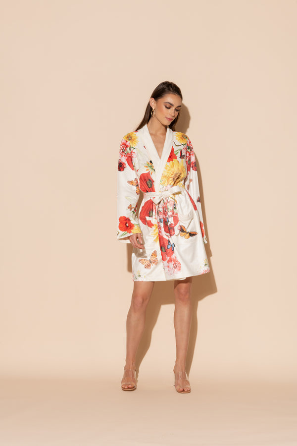 Bouquet Short Robe
