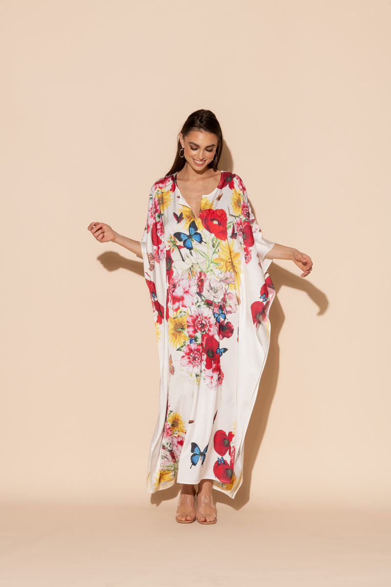Bouquet Long Caftan