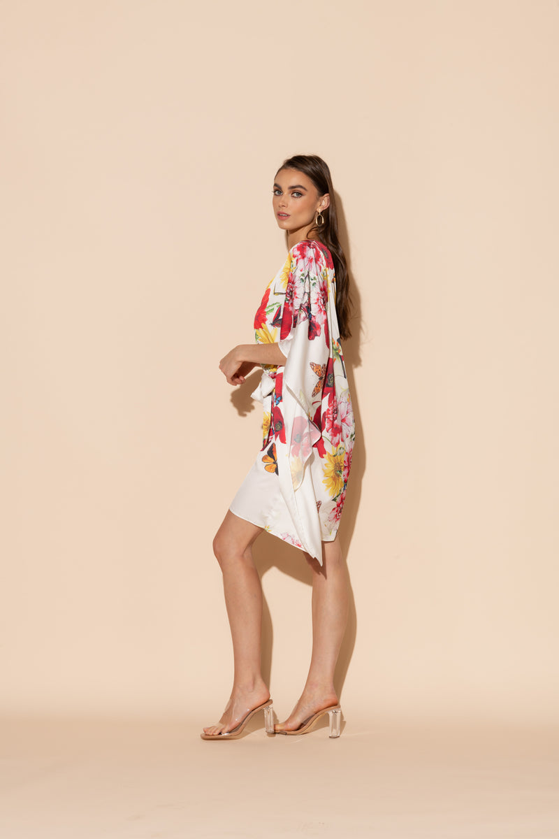 Bouquet Short Caftan