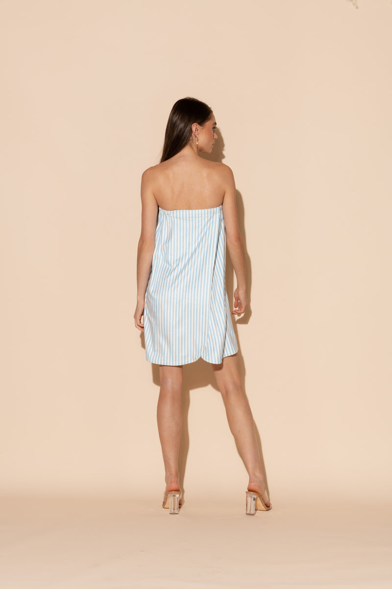 Blue Stripes Body Wrap
