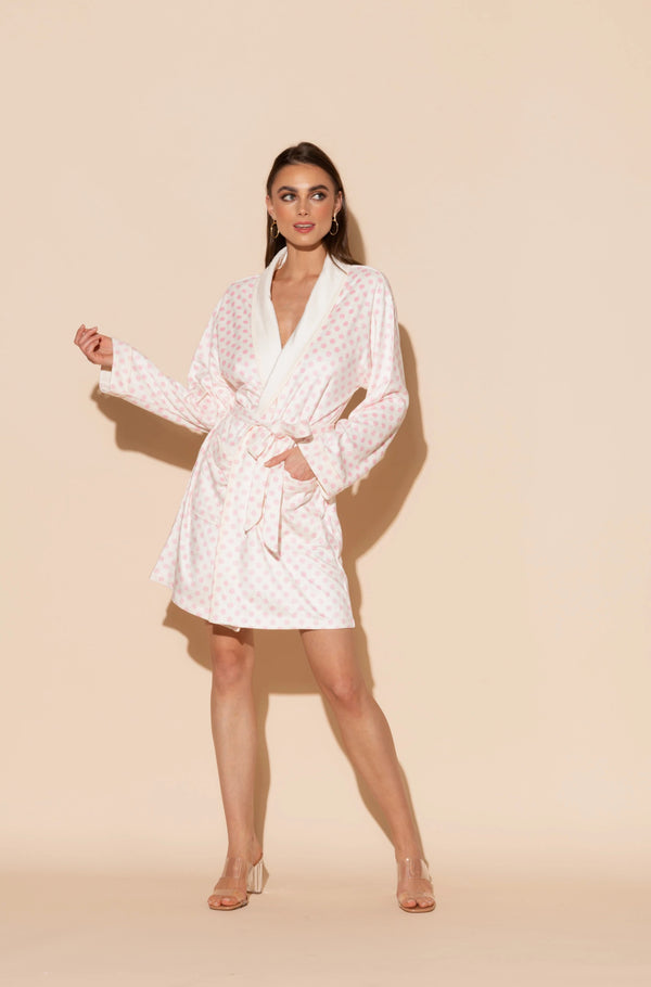 Daisy Short Robe