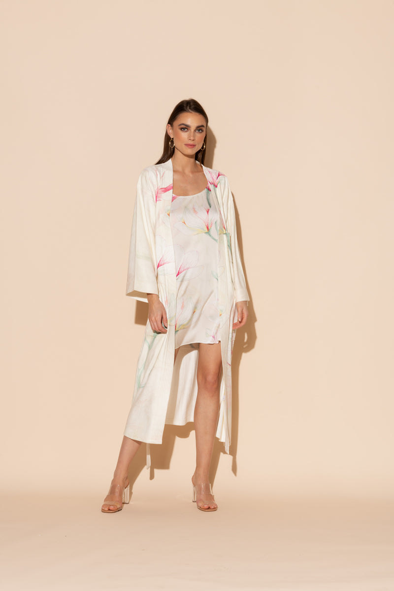 Light Yellow Serena Kimono Bundle
