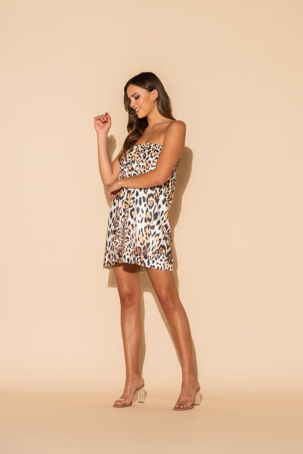 Donnatella Leopard Body Wrap