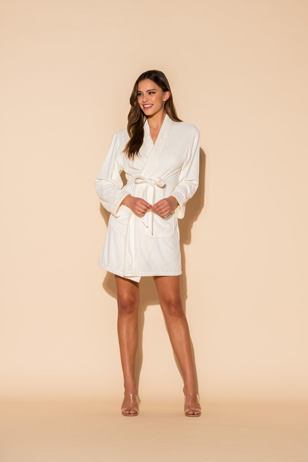 Bride Short Robe