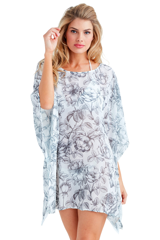 Suzanne Caftan Mini Dress