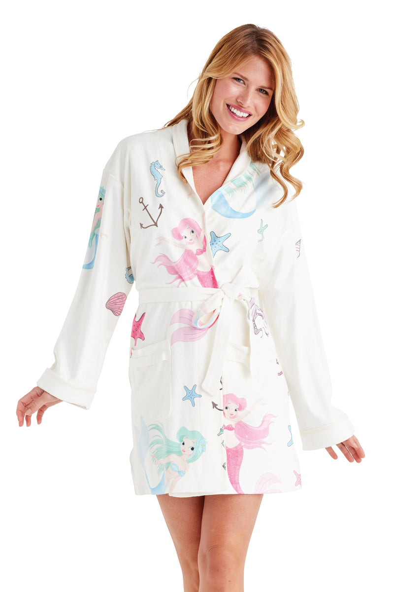 Mermaid Short Robe