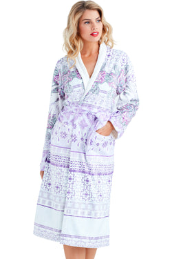 Nirvana Purple Long Robe