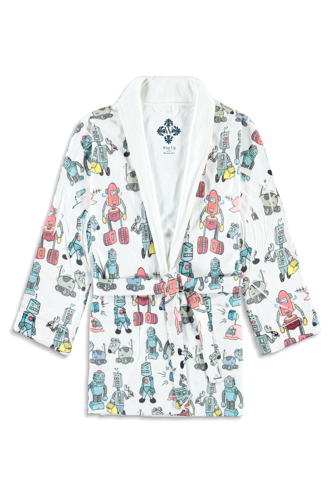 Robot - Attacked Kids Robe