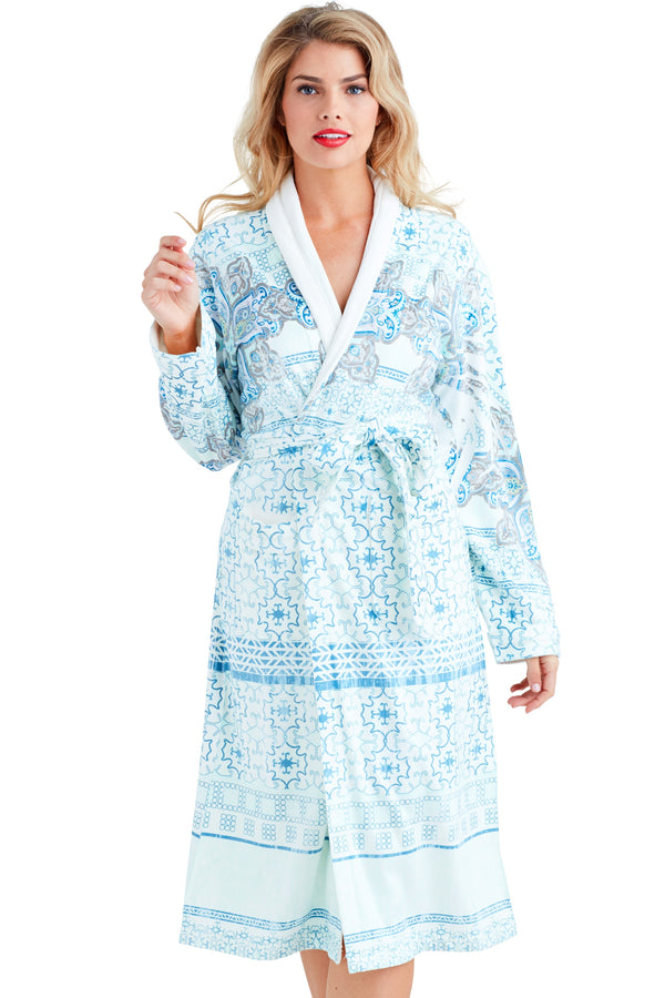 Nirvana Blue Long Robe
