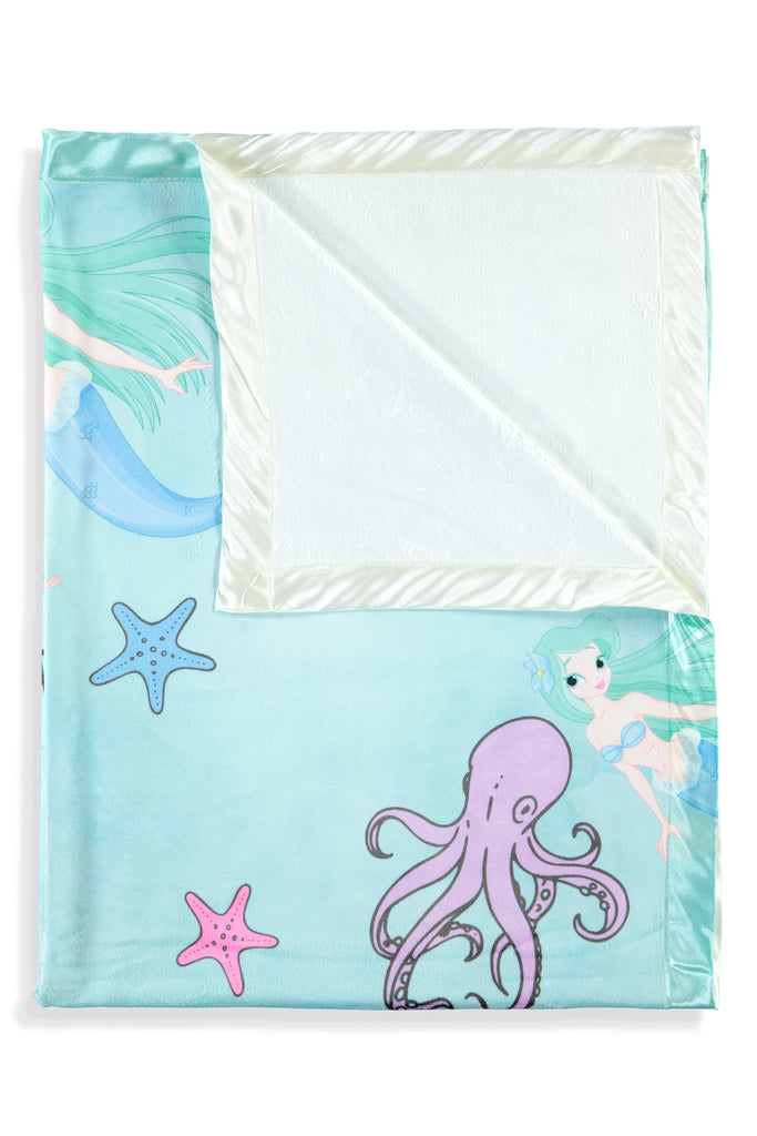 Mermaid Kids Small Blanket