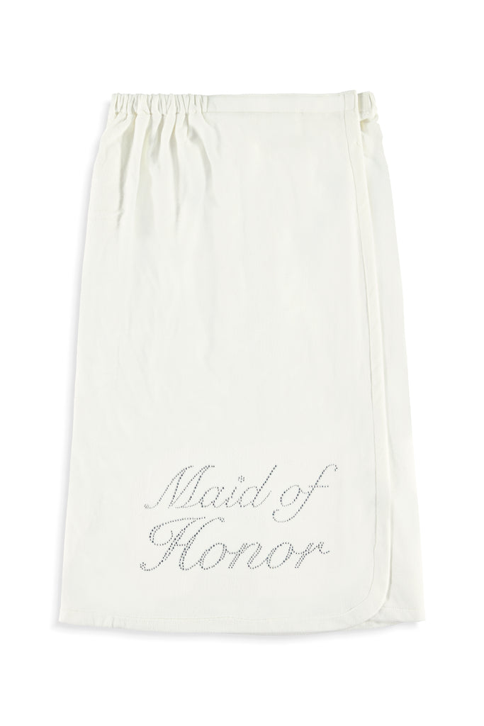 Maid of Honor Wrap - Silver