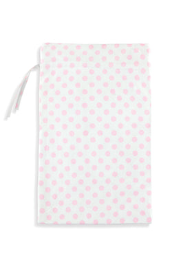 Pink Polka Dot Kids Bag